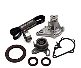 Timing Belt Water Pump Tensioner Kit fits for 2001 2002 2003 2004 2005 2006 2007 2008 2009 2010 2011 Hyundai Accent, 2006-2011 Kia Rio Rio5 1.6L 16V DOHC G4ED G4EC