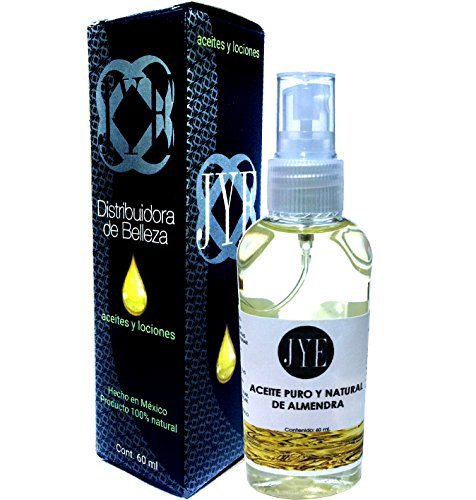 Aceite Puro de Almendras 100% Natural 60 ML