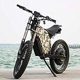 QS Super Stealth Electric Mountain Ebike 5000W a su puerta libre de impuestos