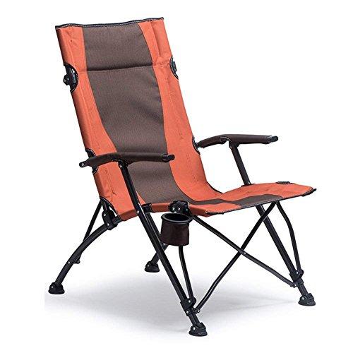C-Xka Im Freien faltender kampierender Stuhl für Schwere Leute-Komfort-Hohe Rückseitige Armlehnen-Getränkehalter-tragbarer Schwerer Strand-Fischen-Stuhl und selbstfahrende Tour-tragbarer Klappstuhl