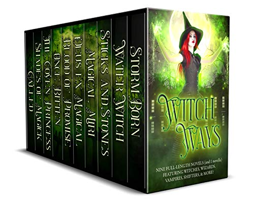 Witch Ways: 9 Full-Length Novels (and 1 Novella) Featuring Witches, Wizards, Vampires, Shifters, and More! Kindle Edition by Christine Pope (Author), Thea Atkinson  (Author),  Meredith Medina (Author), Debra Kristi  (Author), Kat Parrish (Author), Leeah Taylor (Author), Tina Glasneck (Author), Lily Luchesi (Author), Julia Crane (Author), J.A. Belfield (Author)