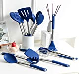 Rorence Silicone Cooking Utensil Kitchen Utensil Set: 12 Pieces Kitchen Gadgets for Baking Mixing...
