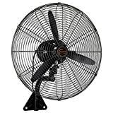 Fan Ventilador Grande/Ventilador Industrial/Ventilador de Pared/Ventilador de bocina/Comercial montado en la Pared