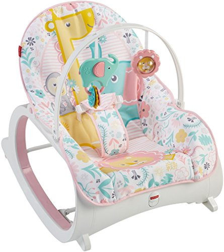 Best Review Of Fisher-Price Infant-to-Toddler Rocker, Pink