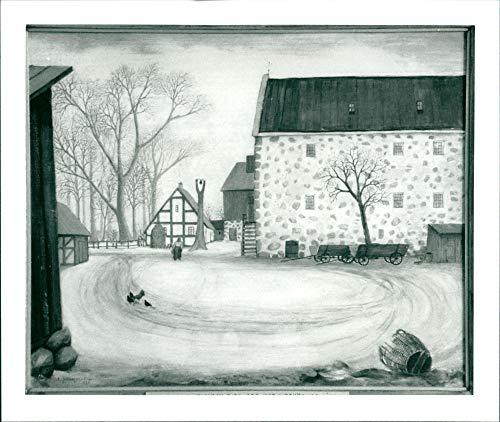 Emil Johanson-Thor, a Swedish painter. Born March 20, 1889 in