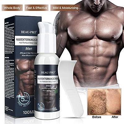 Enthaarungscreme Haarentfernungscreme für Männer