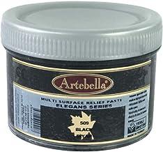 Artebella MSR509 Rölyef Pasta Elegans Serisi Siyah