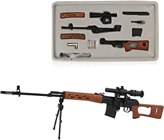 Fantarea 1:3 Guns Model Figures Guns Miniature Model Guns Birthday Gifts Figurine Toys Model Gun, Party Role-Playing for Kid,Education Learning Toy ,Army Collection for Collector