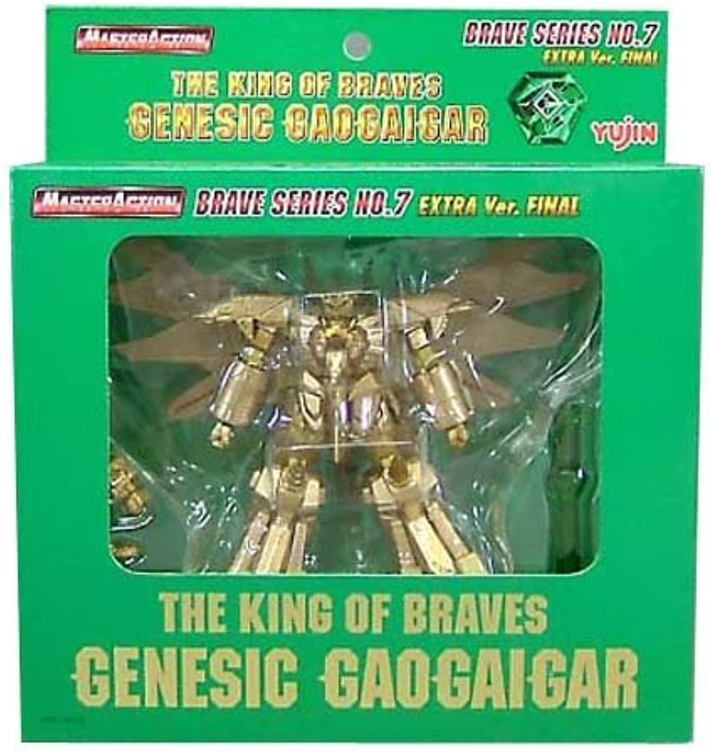 MASTERACTION THE KING OF BRAVES Genesic Gaogaigar BRAVE SERIES No.7 EXTRA Ver. FINAL (japan import)