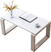 Tables Coffee Table Home Low Table Balcony Small Table Living Room Furniture Square Table (Color : White, Size : 80 * 44 *...
