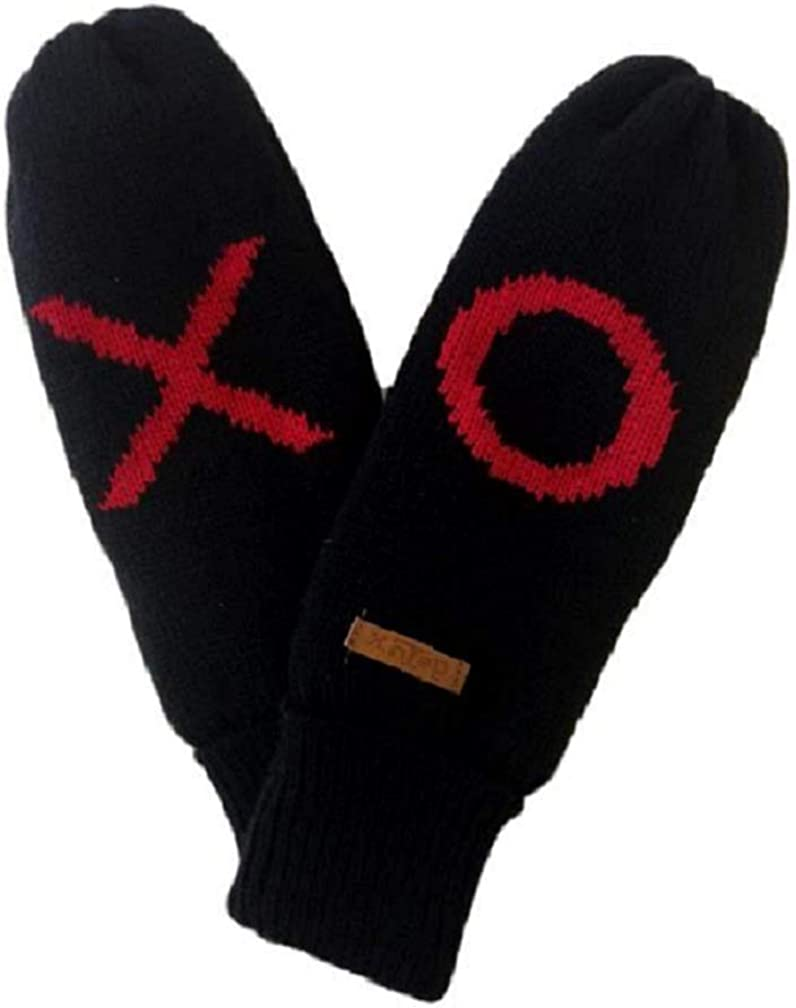 DeLux SALENEW very popular New item Message Mittens - Red XO