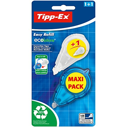 "Tipp-Ex Ecolution Tipp-Ex Korrekturroller\""Easy Refill Pack"