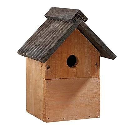 Multi-Purpose Wild Garden Bird Nesting Box, Traditional Wooden Bird Nest House by Happy Beaks from Happy Beaks