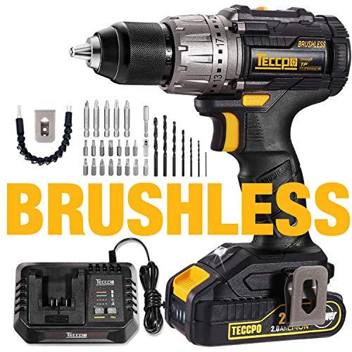 Teccpo Brushless Drill