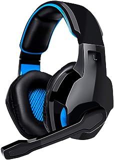 Auriculares para Juegos de PC Auriculares USB 7.1 Sonido Virtual Auriculares con micrófono en línea Control de Volumen en ...