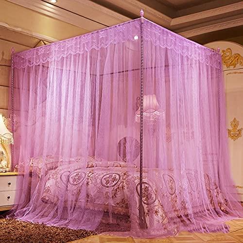 LFLLFLLFL Mosquiteras IKEA Mosquitera para Cama Mosquitera Cama Matrimonio Interior Y Exterior Tela Mosquitera por Metros Mosquitera Cuna (Color : E, Size : 180cm*220cm)