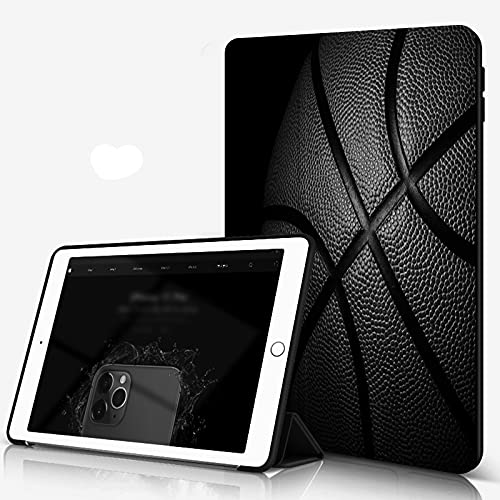 She Charm Funda para iPad 9.7 para iPad Pro 9.7 Pulgadas 2016,Baloncesto,Incluye Soporte magnético y Funda para Dormir/Despertar