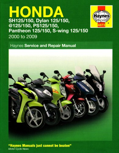 Coombs, M: Honda 125 Scooters (Sh, Ses, Nes, Pes & Fes 125)