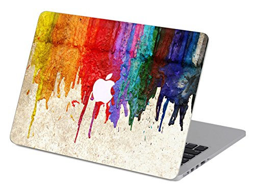 Fit for MacBook Pro 16' with Touch Bar/Touch ID (A2141) Customized Flowing Color Special Design Water Resistant Clip Snap-on Hard Case (Peeling Paint 1)