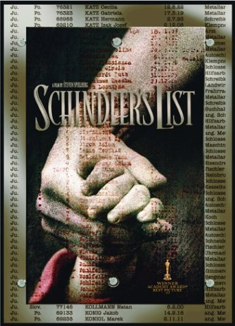 Schindler's List Collector's Gift Set by Liam Neeson