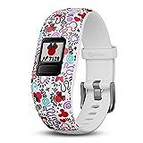 Garmin Vívofit Jr 2, Kids Fitness/Activity Tracker, 1-Year Battery Life, Adjustable Band, Disney Minnie Mouse - White (010-01909-30)