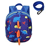 Kids Toddlers Dinosaur <span class='highlight'>Backpack</span> with Anti-Lost Safety Leash Harness Strap, Children Dragon <span class='highlight'>Backpack</span> Rucksack School Bag for Boys Girls (XKL-B)