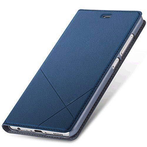 Honor 8 Flip Case Hülle, Honor 8 Handyhülle, Geschäfts Art Leder Schlag Schutzhülle Tasche for Huawei Honor 8
