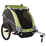 Burley Design D'lite Child Trailer- Green