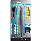 Pilot Mechanical Pencil (31776),Black/ Lime/ Purple/ Turquoise/ Periwinkle,0.7mm