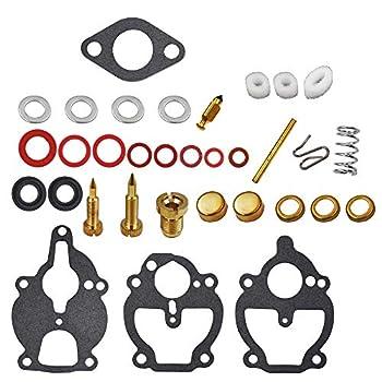 New Carburetor Carb Rebuild Repair Kit fits for 61 161 67 68 IH Farmall Wisconsin Allis Replace # K2112 K2111 K2106