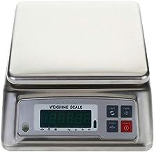 GPWDSN Balance de Cuisine numérique, 30 kg Super Grande Surface en Acier Inoxydable Balance électronique étanche de Haute ...