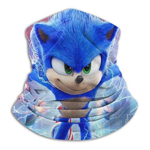 Sonic The Hedgehog - Pañuelo multifuncional para la cabeza con tubo elástico, resistente a los rayos UV, para correr, montar a caballo, senderismo, yoga, deportes