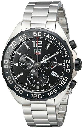 TAG Heuer CAZ1110.BA0877 - Reloj de Pulsera para Hombre, cronógrafo, Cuarzo, Acero Inoxidable