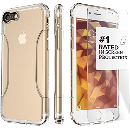 Sahara iPhone 7 Bumper Case With Built-In Screen Protector