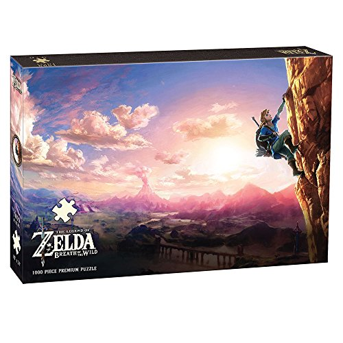 The Legend of Zelda Breath of The Wild Scaling Hyrule 1000 Piece Puzzle