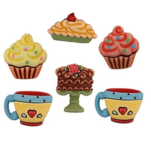 Boutons Sweet Delights - Friandises sucrées