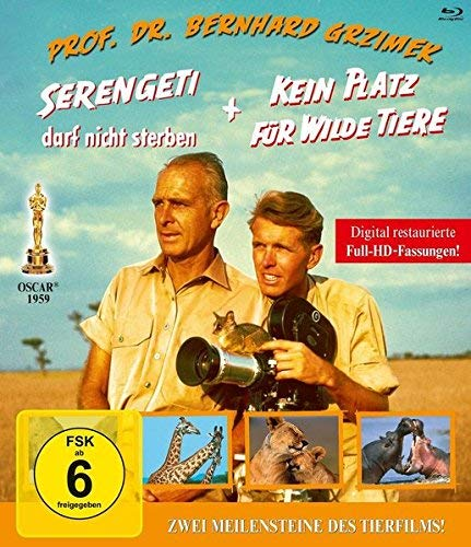 Serengeti darf nicht sterben/Kein Platz für wilde Tiere [Blu-ray]