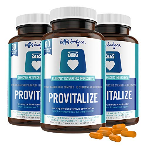 Original Provitalize | Best Natural Weight Management Probiotic (3 Bottles)
