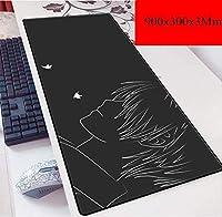 ゲーミングマウスマットラージマウスマットスピードゲーミングマウスパッド、厚さ2mmの基本と拡張XXL大Mousemat、ノートPC向け、PC (Color : F)