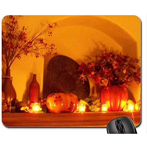 Kamin durch Kerzenlicht-Mausunterlage / Mausunterlage, Mousepad bringt Mausunterlage / Mausunterlage unter