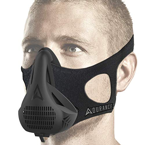 Adurance Training Workout Mask 4 Breathing Oxygen High Altitude Training Mask Exercise Device