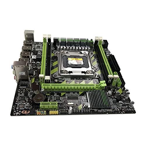 ACEHE Spiel Motherboard, X79 M.2 Motherboard Lga 2011 Ddr3 Mainboard Für In-Tel Xeon E5 Core I7 CPU-Unterstützung ECC Memory E5 Computerspiel Motherboard