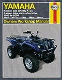 H2567 Yamaha YFM 400 450 600 660 Kodiak Grizzly 1993-2005 ATV Repair Manual by Haynes