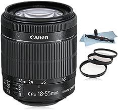 Canon EF-S 18-55mm f/3.5-5.6 IS STM Lens (White Box) for Canon EOS SLR Cameras 7D II, 7D, 70D, 60D, 50D,... T6i, T5i, T6, T5, 1200D, T3i, T4i, SL1, 700D, 760D 750D, 650D, 600D.....+ AUD Essential Accessory Bundle