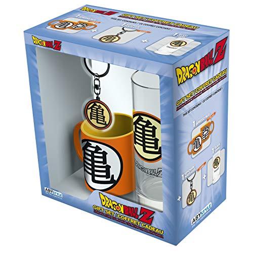 ABYstyle - Dragon Ball - Pack de Kame Símbolo - Vaso + Llavero + Mini Taza