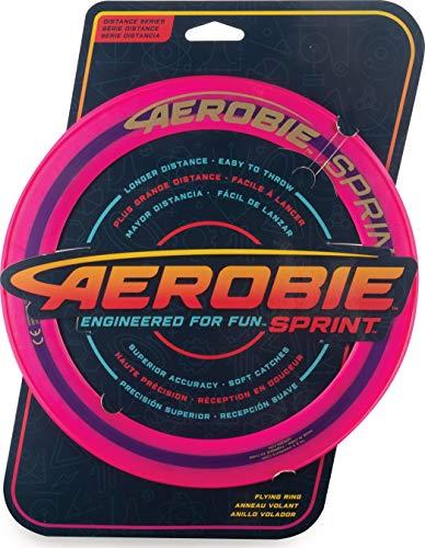 Aerobie 6046391 - Sprint Flying Ring Wurfring mit Durchmesser 25,4 cm, farblich sortiert