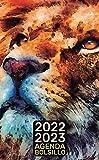 Diario de Bolsillo 2022-2023: 2 años, 24 meses desde Enero de 2022 hasta Diciembre de 2023 León