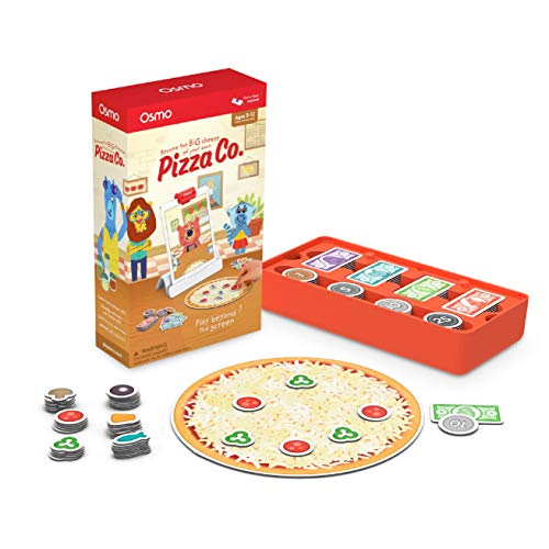 Osmo - Pizza Co. Game - Ages 5-12 - Communication Skills & Math - Learning Game - For iPad or Fire Tablet (Osmo Base Required)