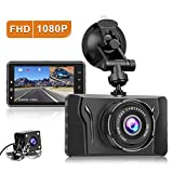 CHORTAU Dash Cam Front and Rear FHD 1080P Car Camera Recorder 2020 New