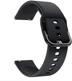 سوار ساعة سليكون من ليجر متوافق مع (حزام بعرض 20 مم) لسامسونج اكتيف 2 و 42 مم